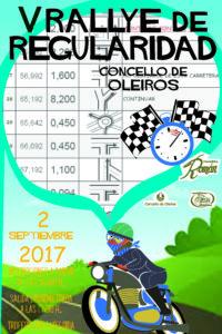 CARTEL CLASICAS 2017 Rally